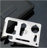 Wholesale Large saber card Multi function rescue Universal camping tool card send holster