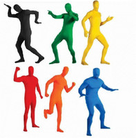 catsuits - Free Tailor made Fullbody Unisex Tights Suits Catsuits Unicolor Full Body Zentai Suits S36457