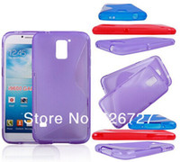 Wholesale Case For Samsung Galaxy S5 Cell Phone Case For Samsung Galaxy S5 Fashion Business Flexible S Line TPU Cover