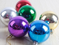 Wholesale Christmas tree decoration light electroplating ball electroplating Christmas Christmas balls Holiday decorations ball