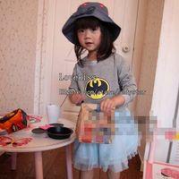 korean children clothing - Korean Girl Dress Children Clothes Kids Clothing Autumn Batman Tutu Dress Girls Dresses Fashion Princess Dress Children Dresses Shirt Dress