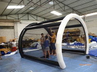 Wholesale Golf Practice Inflatable Hitting Cage Tent