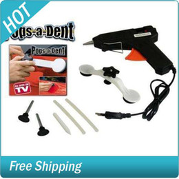 Wholesale 24 BOXES PER CASE Pop a Dent Car Dent Repair Removal Dent King Removal Tool Car Kit Dent Glue Gun Body TV Product