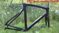 Wholesale 2015 carbon road bike frame bob matte finish Carbon fiber bicycle frame K BSA BB30 color bob sky