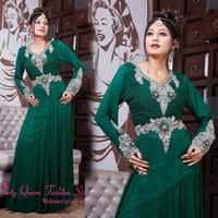 Cheap Muslim evening dress Best Full Length Dubai Kaftan