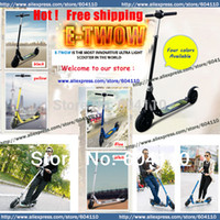 Wholesale E TWOW etwow Mini folding electric scooter w brushless motor v ah li battery chariot bike biclcyle