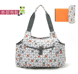 Wholesale Baby bag Diaper nappy changing bags bolsa de bebe baby bolsa maternidade handbag women para set large capacity Okiedog
