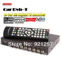 Cheap GPS 250KM H Car DVB-T MPEG4 H.264 TV tuner 2PVR USB Record TDT TNT HDMI car tv box TV receiver digital tv box wireless