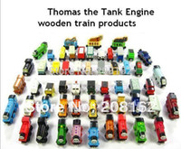 Wholesale 10 Thomas And Friends Train Car Wooden Complete Set Of Car Toy Engine Train Toys