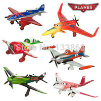 Wholesale 6pcs pixar planes plastic dusty planes airplane model classic toys for children gifts doll