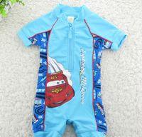 Wholesale Baby boy rash guards swimming suit new design boys surf clothing kids swimwear beach wear retail one piece