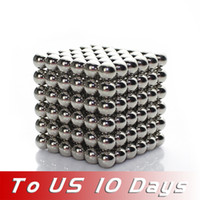 Wholesale FreeShipping New BuckyBalls Magnetic Ball Cube mm Diameter NeoCube Funny Magnet Ball Neodymiums Novelty TO US DAYS
