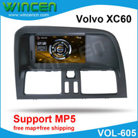 "Cheap 6.2"" Car DVD GPS Player for Volvo XC60 with MP5 Function 3D Menu High Quality Free Shipping+Free Card with Map!!!"