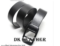 Wholesale Men Belt Man Adult Men Fashion Solid Metal Allergy Hot Solid Smooth Buckle All Match Plastic Head Unisex Pulley Fashion Belts