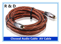 Cheap Cable rca Best RCA 24k gold plated audio cable