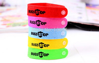 Cheap Summer Hot Selling 50pcs Non-toxic Anti Mozzie Pest Insect Bugs Repeller Wrist Bands Mosquito Repellent Bracelet # 200315
