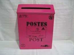 Wholesale Rustic iron mail Mailbox fashion vintage bucket tin newspaper boxes mail box post box