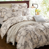 Cheap Free FedexFashion Classic European-style Small floral Brand Bedding 4pcs 100%cotton Satin Bedding set Duvet cover set Bed sheet AAAP03