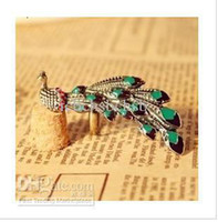 Wholesale The European Style Hot Sale Fashion Peacock jewellery Rings Piece D