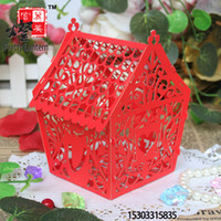 Wholesale Teachers day gift paper cutting diy paper art romantic decoration paper cut lantern paper art