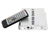 Cheap Digital HD SD DVB-T TV Receiver HDMI EPG MPEG-4 H.264 PVR + Remote Control free shipping ,wholesale # 190122