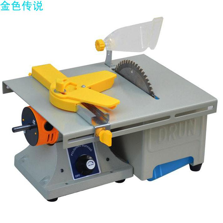 2017 Diy Small Table Saw Miniature Model Making Low Noise Household Jade Circular Saw Blades