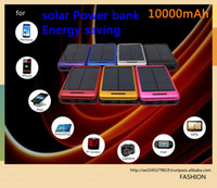 Wholesale Hot sell Trend Black fashion solar power bank mAh Mobile Power Bank Backup Battery Solar Charger