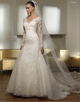 Dramatic Cathedral 3 Meters Lace Edge One- Layer Long Bridal ...