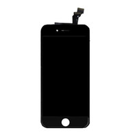 LCD Screen Panels iphone parts - Front LCD Display Touch Screen Digitizer Replacement Part for iphone G inch iphone plus inch LCD Toughened glass membrane