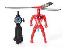 Wholesale Flying Heros Cartoon Bracing Wire Flying Spiderman Children s Intelligence Toys