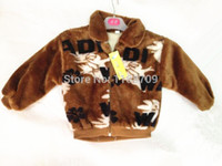 Wholesale Winter new style baby boys fashion Mink cashmere coats soft warm children jackets ages T hot sold kids clothing