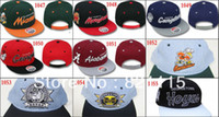 ncaa hats - 20 Adjustableb snapback cap NCAA Snapback hat Baseball Hats Caps ems