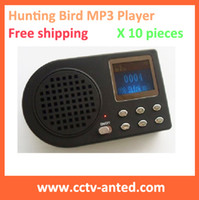 Wholesale hunting bird mp3 player without remote