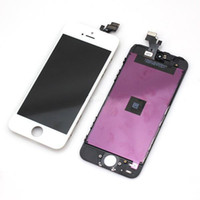 Cheap Replacement LCD Screens For iPhone 5 5G LCD Display &Touch Screen Digitizer full Assembly Black White Color & Free DHL Shipping