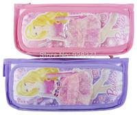 Cheap Wholesale 24PCS LOT Lovely Princess Pencil Bags Girls School Supply Fashion Kids Cartoon Zipper Pencil Case Gift Bags for Girls