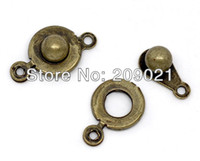 Wholesale 200set Bronze Tone Trailer Hitch Clasp x9 mm Jewelry Finding