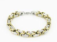 Wholesale EVBXGSL Hot selling l stainless steel bracelets fine jewelry fashion men stainless chain bracelet