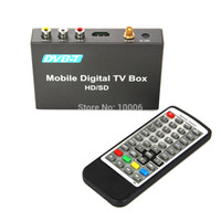 Cheap New Arrival Brand Car Digital HD 1080P DVB-T TV Receiver MPEG1 2 4 H264 HDMI USB2.0 with Remote Free Shipping # 190269