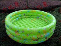 Cheap Free Shipping Intime Plastics 100cm infant baby bb Swimming Pool Inflatable Pool Summer Baby Swimming Pool Kids Bathing Tub