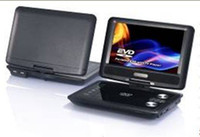 Wholesale Portable DVD TV USB MPEG4 GAME Card reader with HD TFT Player