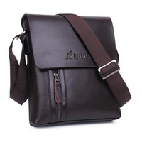 Cross Body square fashion - Mens Leather Cross Body Bag Business Vertical Square Messenger Bag Genuine Leather Crossbody Shoulder Bags for Men Fashion Briefcase BNSD02