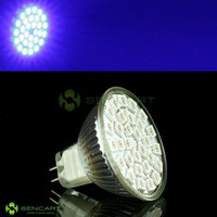 Wholesale MR16 nm W Lumen x5050 SMD LED Blue Light Bulb V