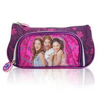 pen pouch - Violetta Girls Pencil case Bag pouch estojo escolar stationery School Cute Zipper Pencil Bag Child Student Pen Case Gift Child cm
