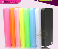 Wholesale thin Portable Perfume Power Bank mah External Backup Battery Charger Emergency Power iphone S S htc