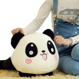 Oreillers panda en peluche en Ligne-S5Q unisexe farcies poupée en peluche animale Panda géant traversin cadeau 70CM AAADSZ