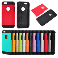 hard cover - For iPhone plus inch Slim Tough Slim Armor Hybrid PC TPU Hard Case Cover For iphone6