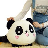 Panda Natural Plush S5Q Unisex Stuffed Plush Doll Toy Animal Giant Panda Pillow Bolster Gift 70CM AAADSZ