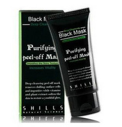 Wholesale Black Suction Mask Anti Aging ml SHILLS Deep Cleansing purifying peel off Black mud face mask facial mask