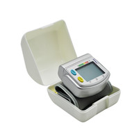 Wholesale Brand New Wrist Automatic Digital LCD Blood pressure monitor sphygmomanometer records