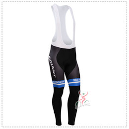 Autumn Cycling Trousers 2016 GIANT TEAM Long Cycling Pants Winter Thermal Fleece Ciclismo cycling Mountian MTB Bike Gel Pad Long Pants